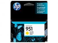 Cartucho Hewlett Packard 951 (CN052AL) Amarillo 8 Ml. P/Officejet Pro 8100/Officejet Pro 8600 Cod. Ci-Hp-052A00