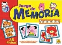 Juego De Memoria Implas Animalitos Cod.257