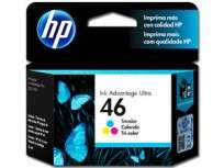 Cartucho Hewlett Packard  46 (CZ638AL) Tricolor 26 Ml. P/4729 Cod. Ci-Hp-Z63800
