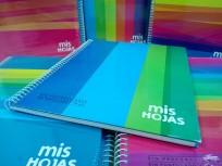 Cuaderno Potosi-Mis Hojas 1 2 3 - 21 x 27 Con Espiral Tapa Carton x 100 Hjs. Cuadriculado - 70 G/M2 Cod. 332224