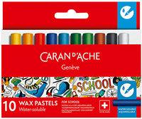 Pastel Caran Dache  School Acuarelable X 10 7502-710 Cod. 089025317502710