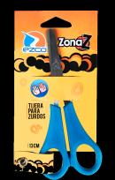 Tijera Ezco Linea Zona Z Para Zurdos 13 Cms. En Blister Cod. 560213