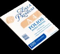 Folio Luma Polipropileno Extra Cristal A4 Premiun 100 Micrones x 100 Unid. Cod. 31-51