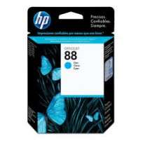 Cartucho Hewlett Packard  88 (C9386AL) Cyan 13 Ml. P/Officejet Pro K550 Cod. Ci-Hp-938600