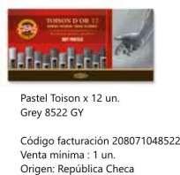 Pastel Toison Dor Soft Redondo x 12 Unid. Cod. 208071048522