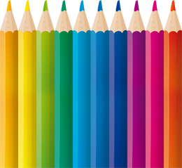 Lapices De Colores x 12 Cortos 1/4 Bulto  120 Unid. Cod. LC12C/B