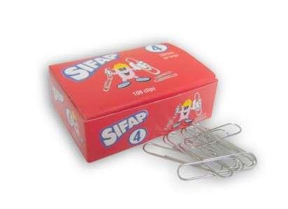 Clips Sifap Nro.  4 x 100 Unid. Cod. 2300143000