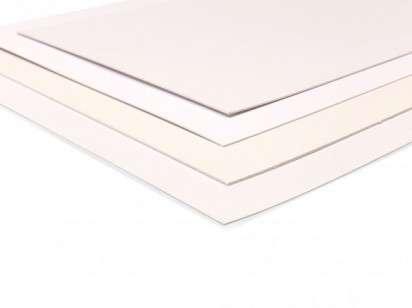 Carton Passe Partoud Hl 35X50 Cm. Blanco 1,2 Mm Fino. Paq. X5 Unid. Cod. Pas001/35