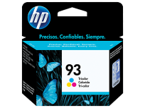 Cartucho Hewlett Packard  93 (C9361WL) Tricolor 7 Ml. P/Psc 1510 Cod. Ci-Hp-936100