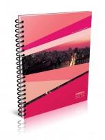 Cuaderno America Nos 29.7 Con Espiral x 80 Hjs. Cuadriculado Cod. 653425