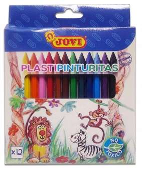 Plastipinturita Jovi x 12 Cortos Blister Cod. 0950019912