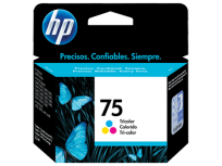Cartucho Hewlett Packard  75 (CB337WL) Tricolor 6 Ml. P/Officejet 5780 Cod. Ci-Hp-B33700
