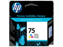Cartucho Hewlett Packard  75 (CB337WL) Tricolor 6 Ml. P/Officejet 5780 Cod. Ci-Hp-B33700