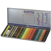 Lapices De Colores Giotto Supermina x 50 Elementos Lata Cod. 237500Ot