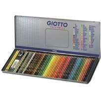 Lapices De Colores Giotto Supermina x 50 Elementos Lata Cod. 237500Ot