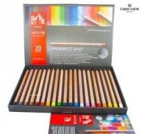 Lapices De Colores Caran Dache Luminance x 20 Largos Cod. 089025276901720
