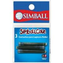 Cartucho Simball Cole X 3 Unid. En Blister Cod.0219010003