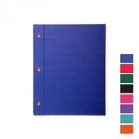 Carpeta Avios Nro. 3 Con Cordon Forrada Polipropileno Azul. Cod.320A