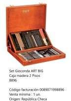 Lapices De Colores Koh-I-Noor Gioconda Set Art Big Caja De Madera 2 Pisos Cod. 089071998896