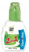 Corrector Liquid Paper 2 En 1 Botella 22 Ml. Cod. S1317765