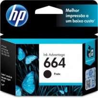 Cartucho Hewlett Packard 664 (F6V29AL) Negro 2 Ml. P/Deskjet 2135/3635/3835/4535/4675 Cod. Ci-Hp-6V2900