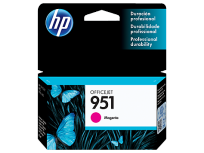 Cartucho Hewlett Packard 951 (CN051AL) Magenta 8 Ml. P/Officejet Pro 8100/Officejet Pro 8600 Cod. Ci-Hp-051A00