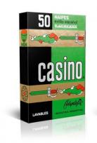 Naipes Casino Celuplastic X 50 Cartas Cartulina Extra Cod.104