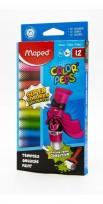 Tempera Maped Color Peps Tubo x  8 Ml. x 12 Unid. Surtida Cod. 826001