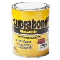 Adhesivo De Contacto Suprabond Extra Fuerte Transparente x 1000 Ml. Lata Cod. Sbd Tr 1