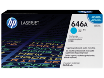 Toner Hewlett Packard 646A (CF031A) Cyan P/Laserjet Color Cm454 Cod. To-Hp-031A00