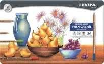 Lapices De Colores Lyra Rembrandt Polycolor x  36 Largos Lata Cod. 2001360