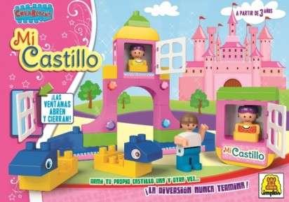 Juego Implas Bloques Y Construccion Castillo Cod.157