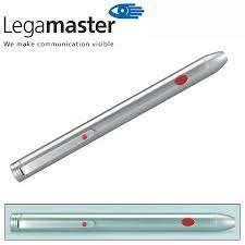 Punteros Laser Legamaster L575500-Lx2  Metalico Plateado 14 Cm.  Cod.850542000