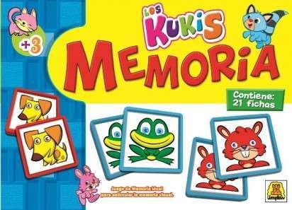 Juego De Memoria Implas Los Kukis Cod.37