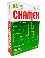 Resma Chamex Multi A4 21 X 29,7 Cms 75 Grs. X 500 Hjs.  Cod. Rca475