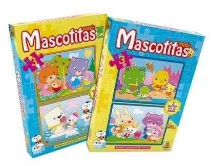 Puzzle Implas Mascotitas 8 Y 12 Piezas. Cod.22