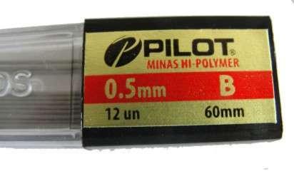 Minas Pilot / Toyo B 0,5 Mm. En Tubo Cod. 10210005003
