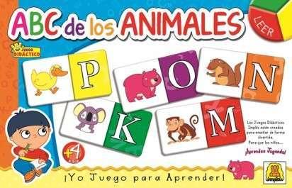 Juego Didactico Y Educativo Implas Abc De Los Animales Cod.313
