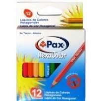 Lapices De Colores Pax Hexacolor x 12 Cortos Cod. 140002Es