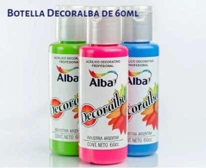 Acrilico Decoralba Decorativo Blanco x  60 Ml. Cod. 8250-410/60