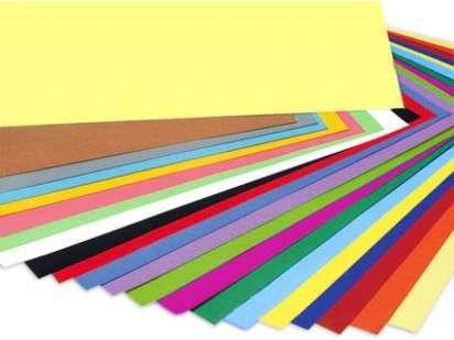 Cartulina Colores Surtidos Bulto x 5 Paq. de 100 Hjs. C/U Cod. CARTCS/B
