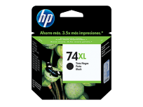 Cartucho Hewlett Packard  74 XL (CB336WL) Negro Alto Rendimiento 20 Ml. P/Officejet 5780 Cod. Ci-Hp-B33600