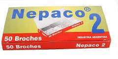 Broche Nepaco Nro. 2 x 50 Unid. Cod. 2002