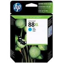 Cartucho Hewlett Packard  88 XL (C9391AL) Cyan Alto Rendimiento 21 Ml. P/Officejet Pro K550 Cod. Ci-Hp-939100