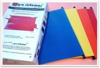 Carpeta G-A Nro. 852 Oficio Colgante Color Sin Polilaminar Varilla Plastica x 10 Unid. Cod. 852