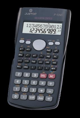 Calculadora Justop JP- 82MS Cientifica 12 Digitos Cod. JP-82MS