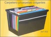 Carpetero G-A Nro. 502 De Mesa Oficio Linea Standard Para 25 Carpetas Cod. 502