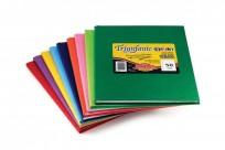 Cuaderno Triunfante 1 2 3 - 19 x 24 Tapa Carton Araña Azul x 50 Hjs. Liso - 90 G/M2 Cod. 441028