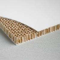 Carton Nido De Abeja Hl Placa 70X100 Cm (2 Caras Blancas Brillante) 1 Cm.De Espesor.  Cod. Abe001