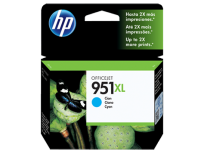 Cartucho Hewlett Packard 951 XL (CN046AL) Cyan Alto Rendimiento 53 Ml. P/Officejet Pro 8100/Officejet Pro 8600 Cod. Ci-Hp-046A00